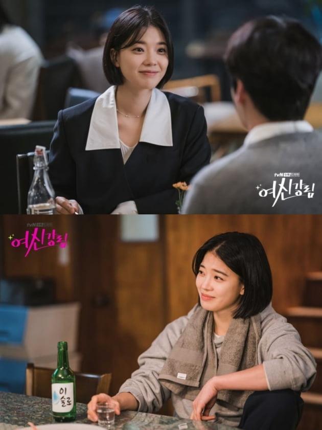 '여신강림' 현장 스틸컷. /사진제공=tvN