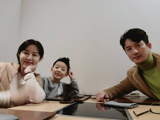 이하정, 정준호·아들 시욱 근황 공개 /사진=SNS