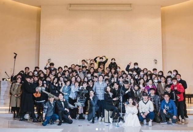 '여신강림' 제작진/ 사진=차은우 인스타그램 캡처