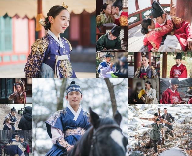 '철인왕후' 비하인드컷/ 사진=tvN 제공