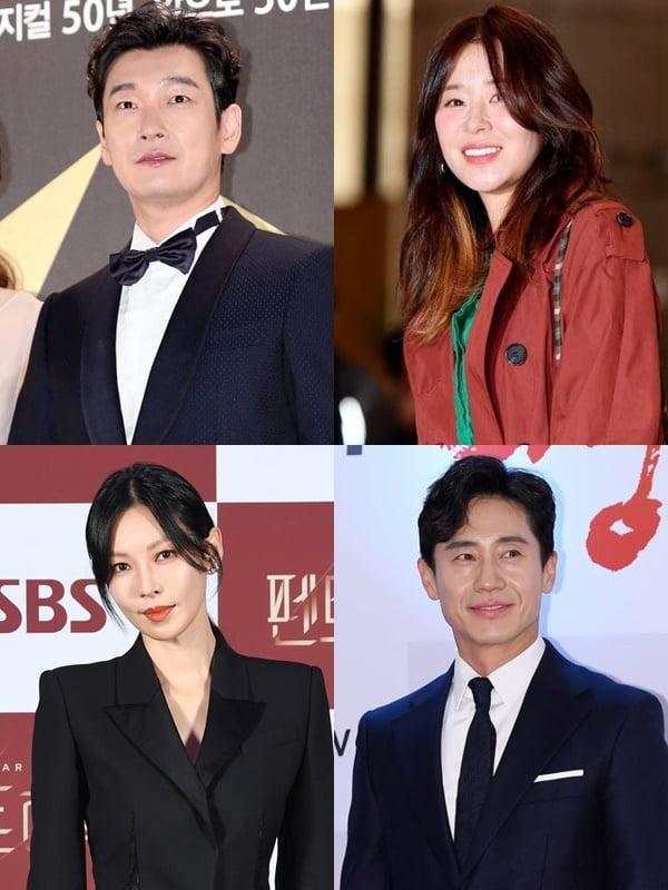 배우 조승우(왼쪽 위부터 시계방향), 최강희, 신하균, 김소연/ 사진=텐아시아DB, SBS