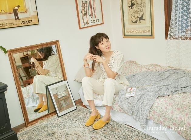 배우 공효진 의류브랜드 화보 / 사진제공=써스데이 아일랜드
