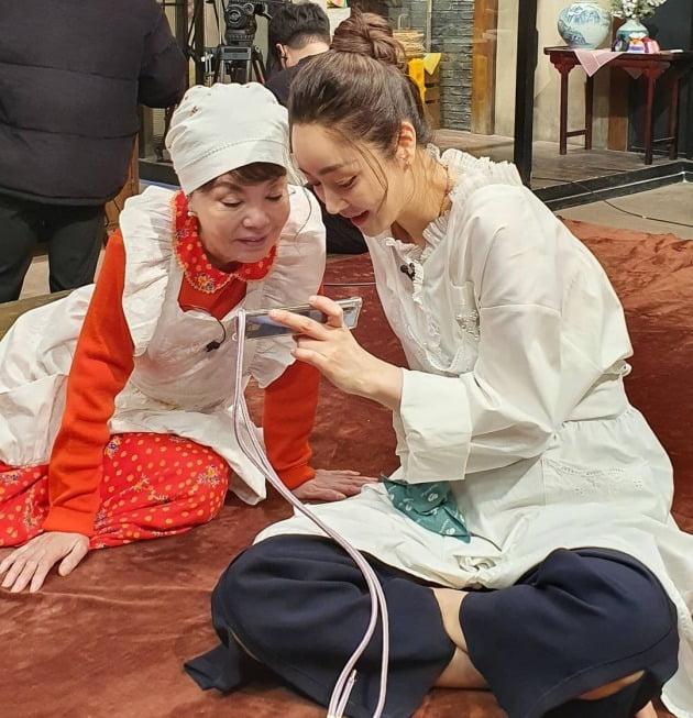 김수미(왼쪽), 서효림 / 사진=서효림 인스타그램