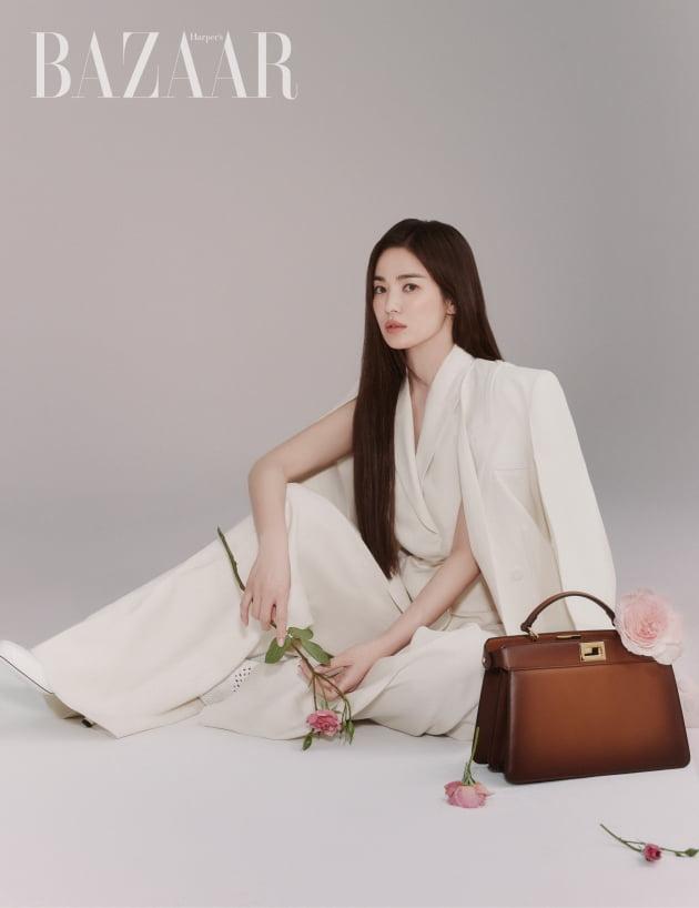 송혜교, 펜디 공식 앰버서더 선정…韓배우 최초 [공식]