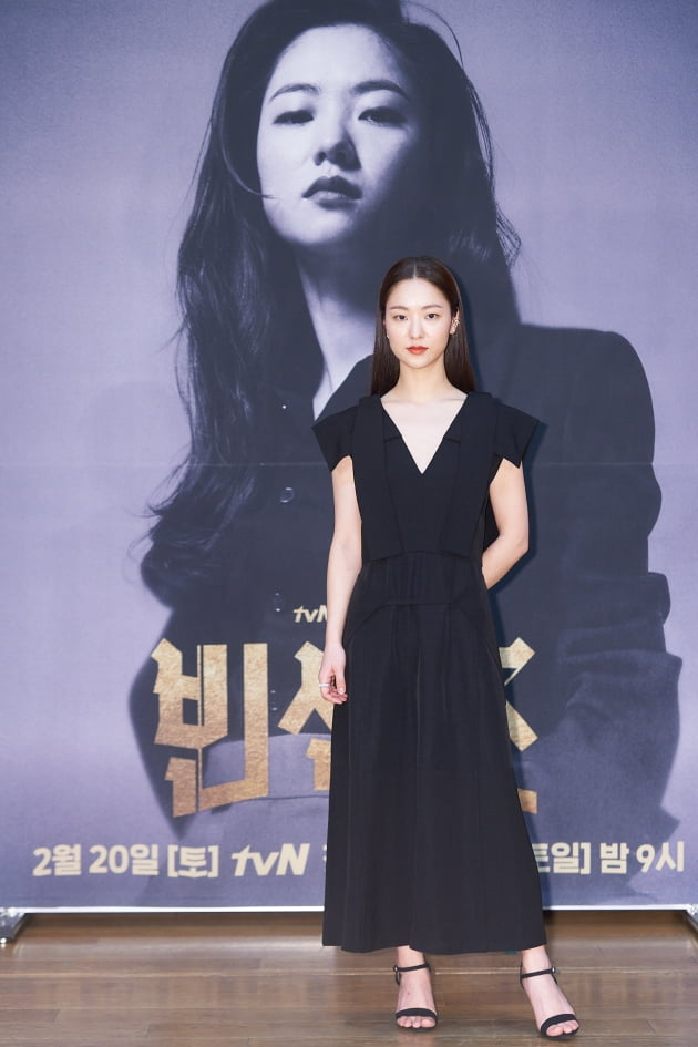 '빈센조'에서 전여빈은 승소를 위해서라면 영혼까지 팔아넘길 독종 변호사 홍차영을 연기한다. /사진제공=tvN