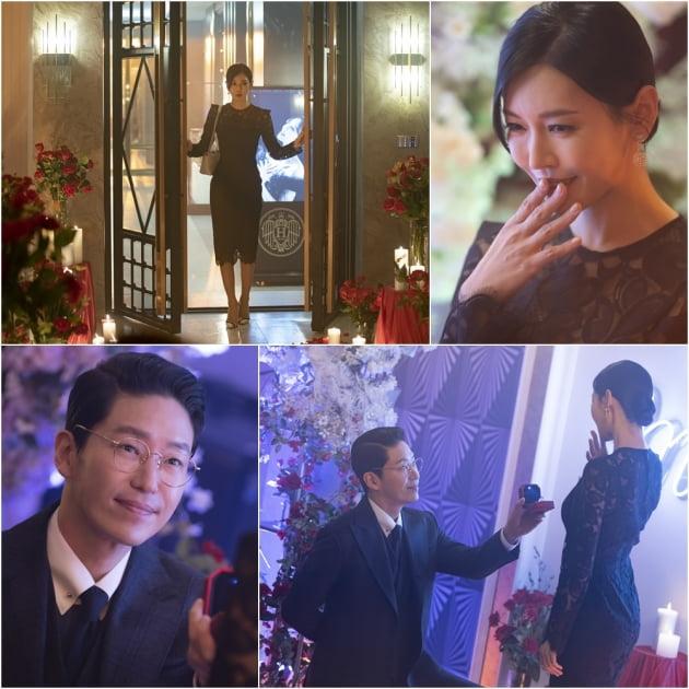 '펜트하우스2' 김소연 엄기준 /사진=SBS