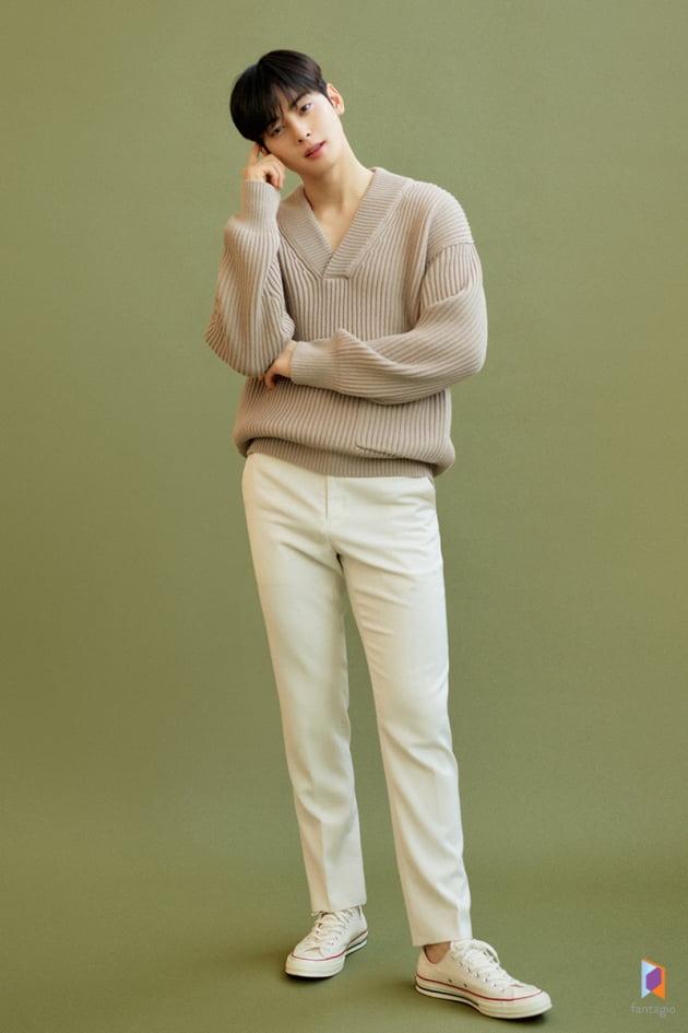 tvN 드라마 '여신강림'에서 이기적인 유전자를 지닌 '엄친아' 이수호 역으로 열연한 가수 겸 배우 차은우. /사진제공=판타지오