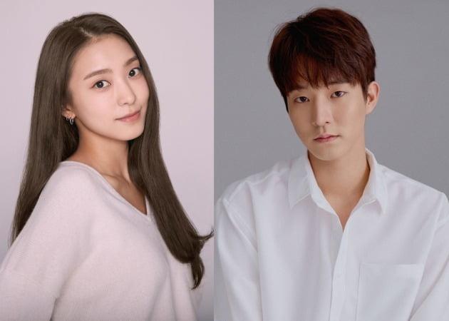 배우 윤보라(왼쪽), 신윤섭 / 사진제공=키이스트