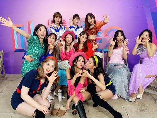 '미스트롯2' 준결승전 참가자들 / 사진=김연지 인스타그램