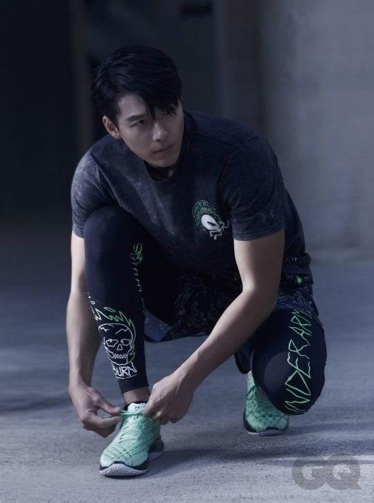 배우 현빈./사진제공=지큐 코리아