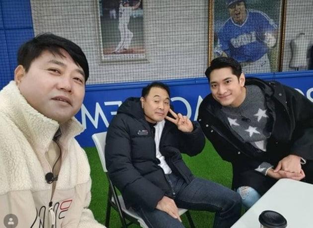 양준혁-이봉주-김요한./ 사진=인스타그램