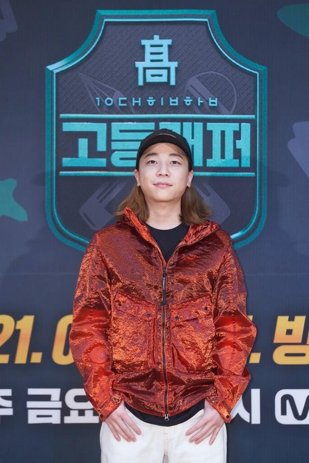 '고등래퍼4' MC 넉살/ 사진=Mnet 제공