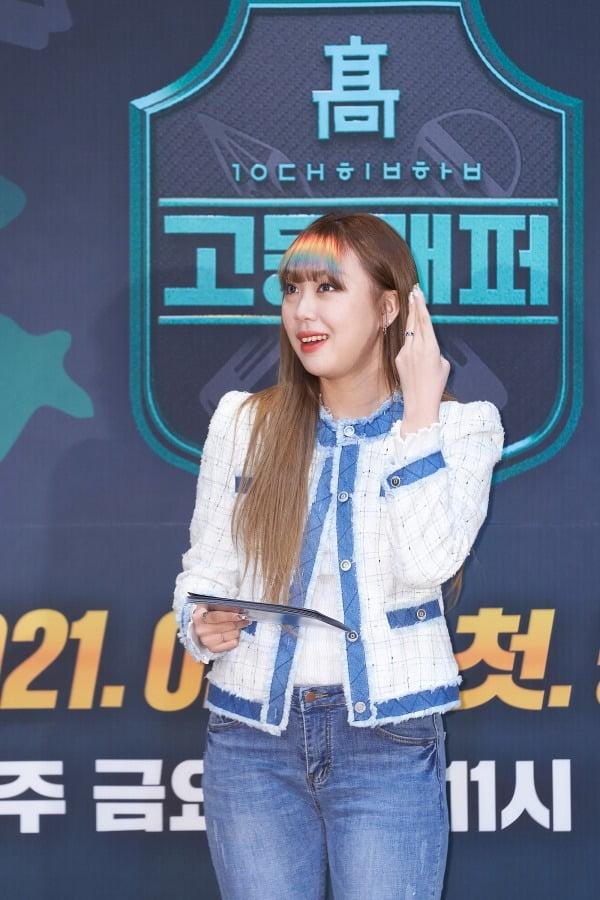 '고등래퍼4' 제작발표회 MC이자 시즌3 우승자 이영지/ 사진=Mnet 제공