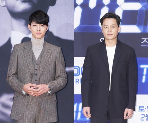 2년 만에 드라마 복귀한 송중기(왼쪽), 이서진/ 사진=tvN, OCN 제공