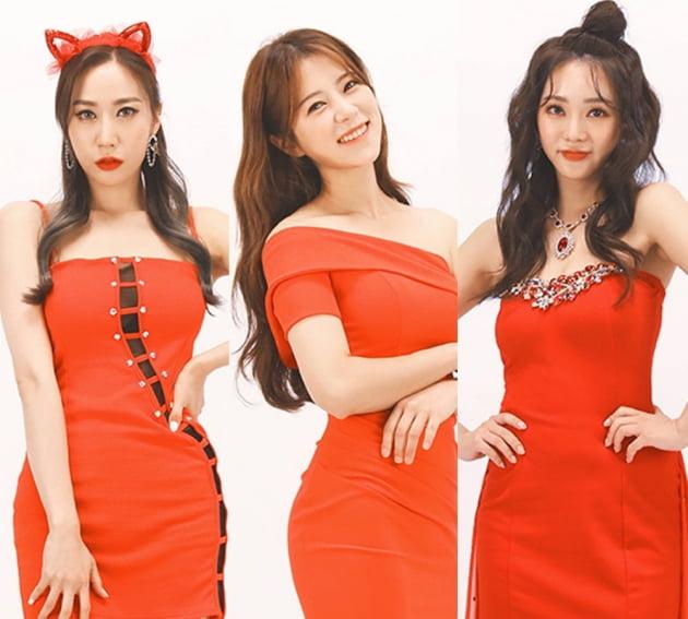 '미스트롯2' 별사랑(왼쪽부터), 양지은, 홍지윤 / 사진제공=TV조선