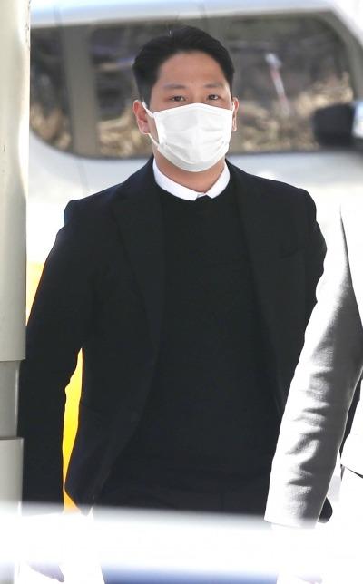 [TEN 포토] 힘찬 '강제추행 협의 징역 10개월'