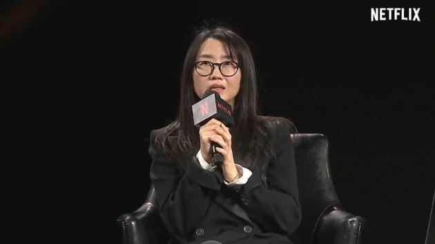 사진=넷플릭스 콘텐츠 로드쇼 See What's Next Korea 2021 온라인 생중계 캡처