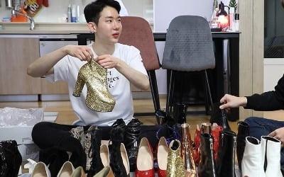 조권, 하이힐 홀릭…<br>신발장 한 가득 '깜짝'