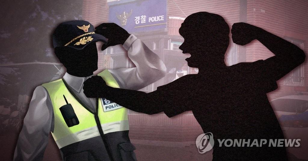 """경찰관에 """"죽는다 너"""" 욕설·폭행한 30대 벌금 500만원"""