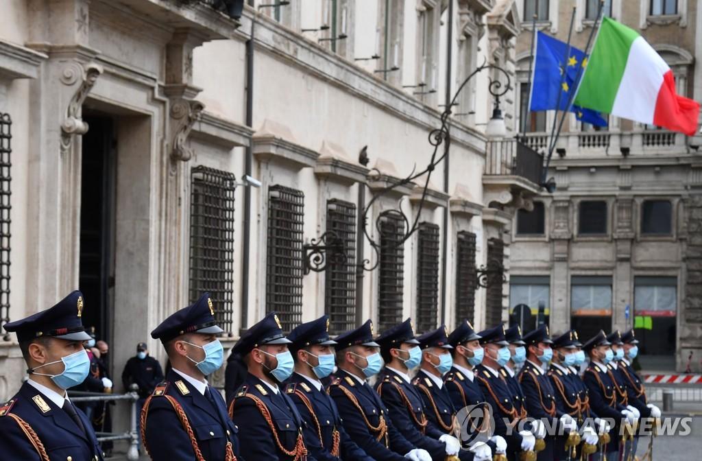 유로존 구한 '슈퍼 마리오' 드라기 이탈리아 총리 공식 취임