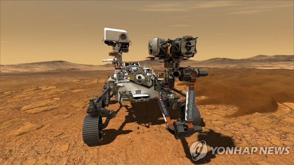 [1보] 미 퍼서비어런스 화성 착륙 성공…'공포의 7분' 통과해 안착