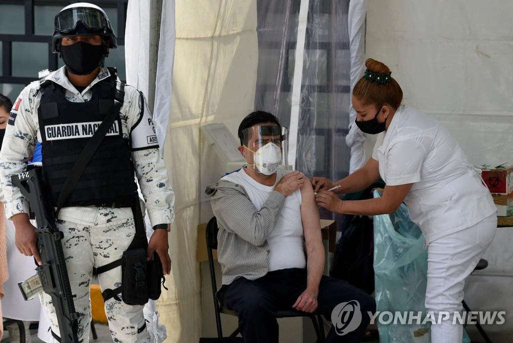 """멕시코서 '가짜 백신' 판매 일당 체포…""""1회 접종에 220만원"""""""