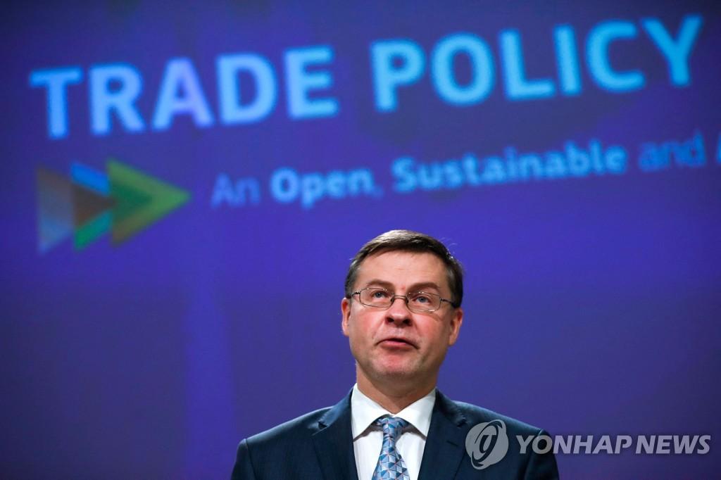 EU, 새 무역 전략 추진…WTO 개혁·녹색경제 전환 강조