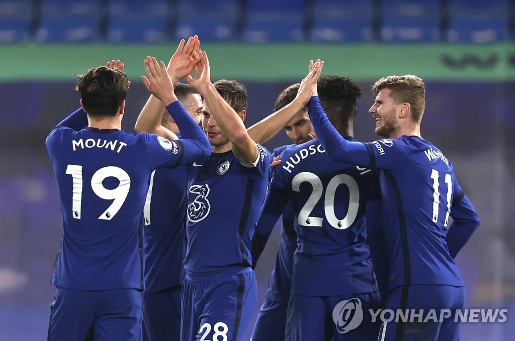 '투헬 체제'서 상승세 탄 첼시, 뉴캐슬 꺾고 EPL 4위로 도약