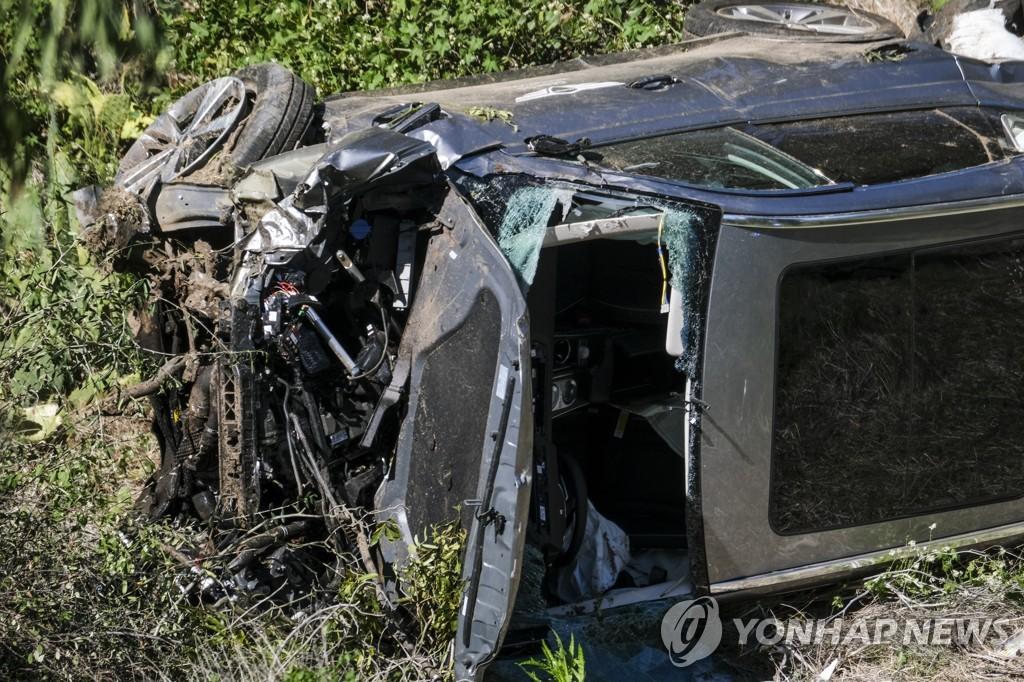 """트럼프 '차량 전복 사고' 우즈에 """"쾌유를 빈다, 진정한 챔피언"""""""
