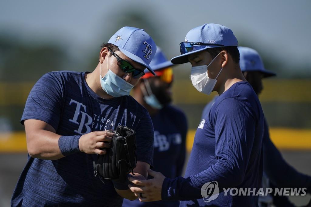 """최지만 """"추신수 선배의 길이 나의 길…나중에 한국 돌아갈 것"""""""