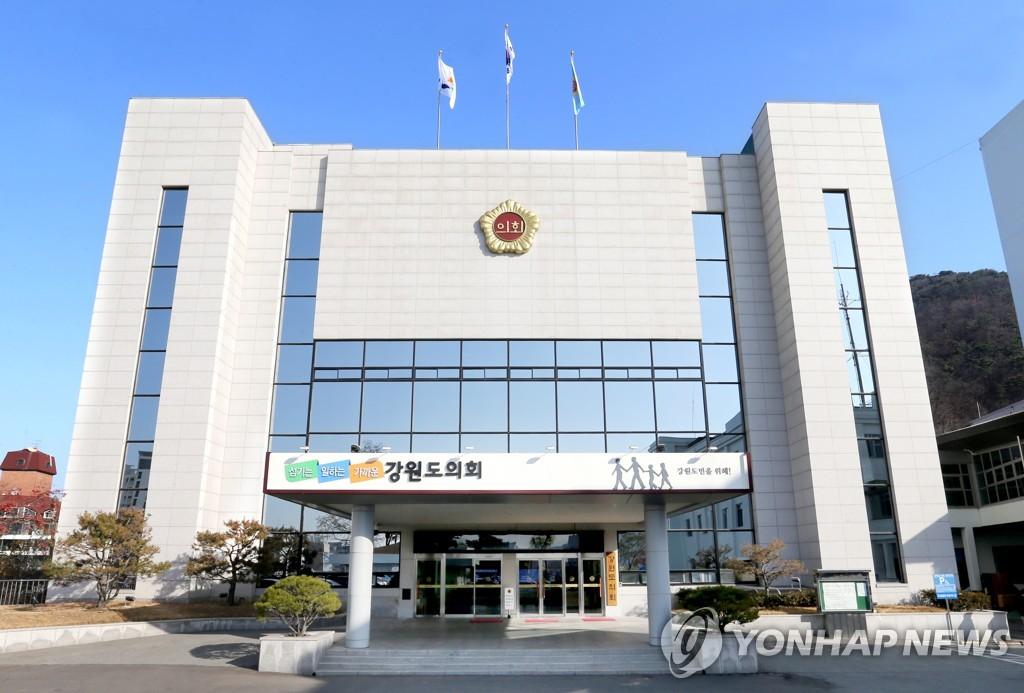 """정의당 강원 """"코로나19 시국에 해외연수 잔치 벌이려는 것인가""""(종합)"""