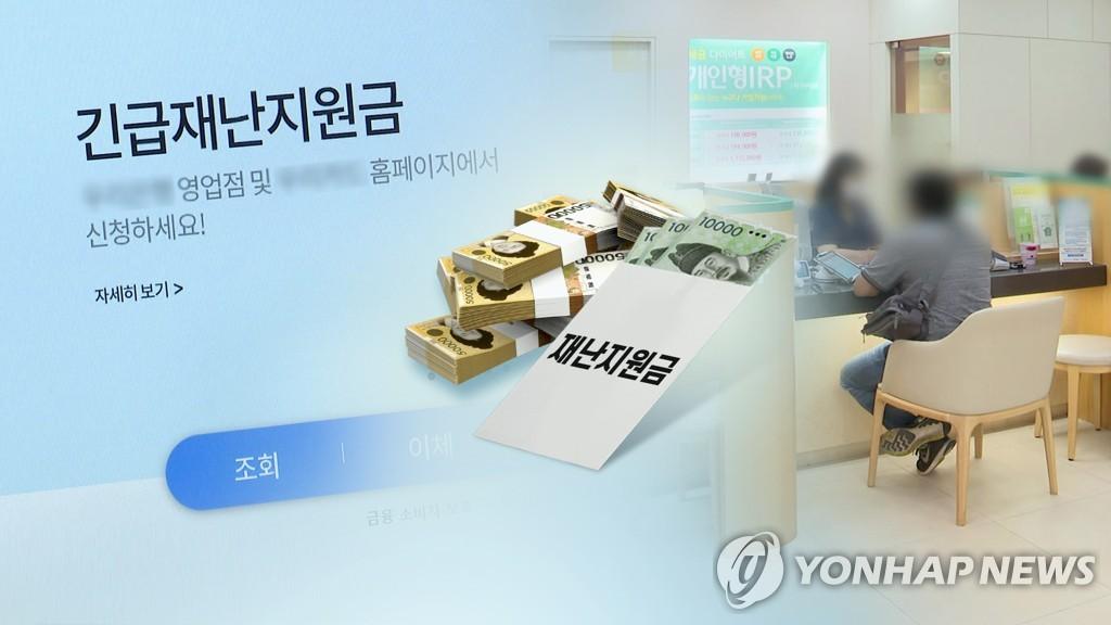 與, '소득하위 40%' 재난지원금 일괄지원 압박