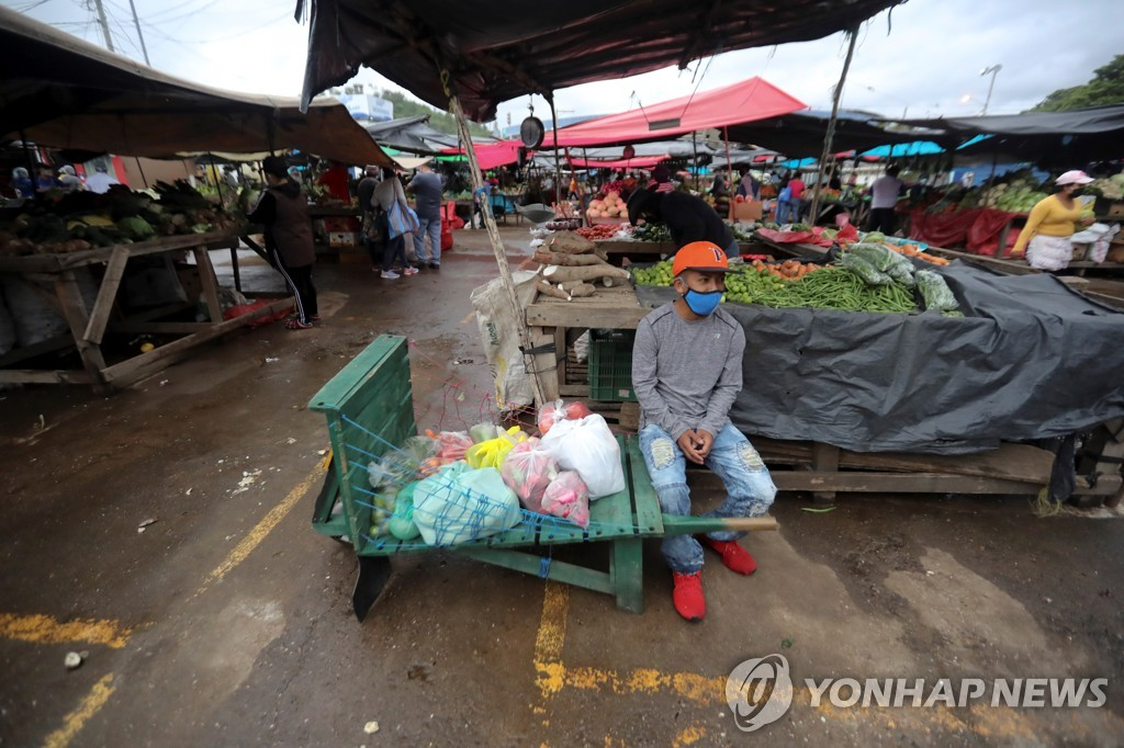 허리케인·코로나19 겹악재에…중미 기아 인구 2년새 4배