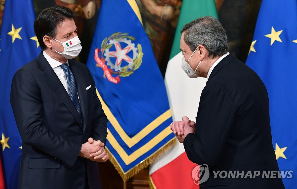 무명 변호사서 이탈리아 총리로…2년 8개월 여정 마감한 콘테