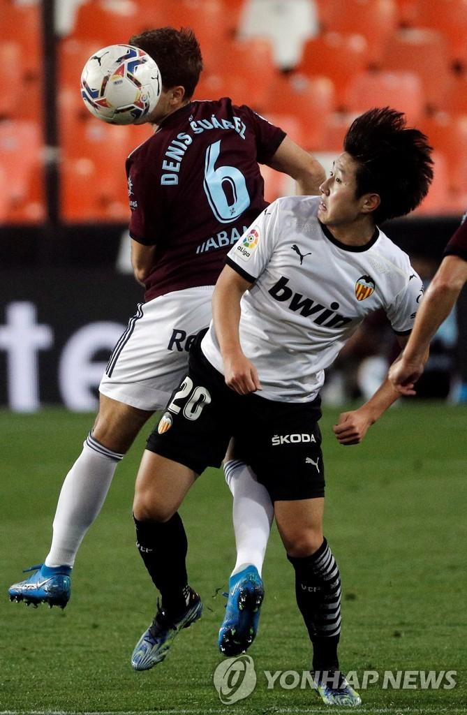 '선발 출격' 이강인, 결승골 도움…발렌시아, 셀타비고 2-0 제압
