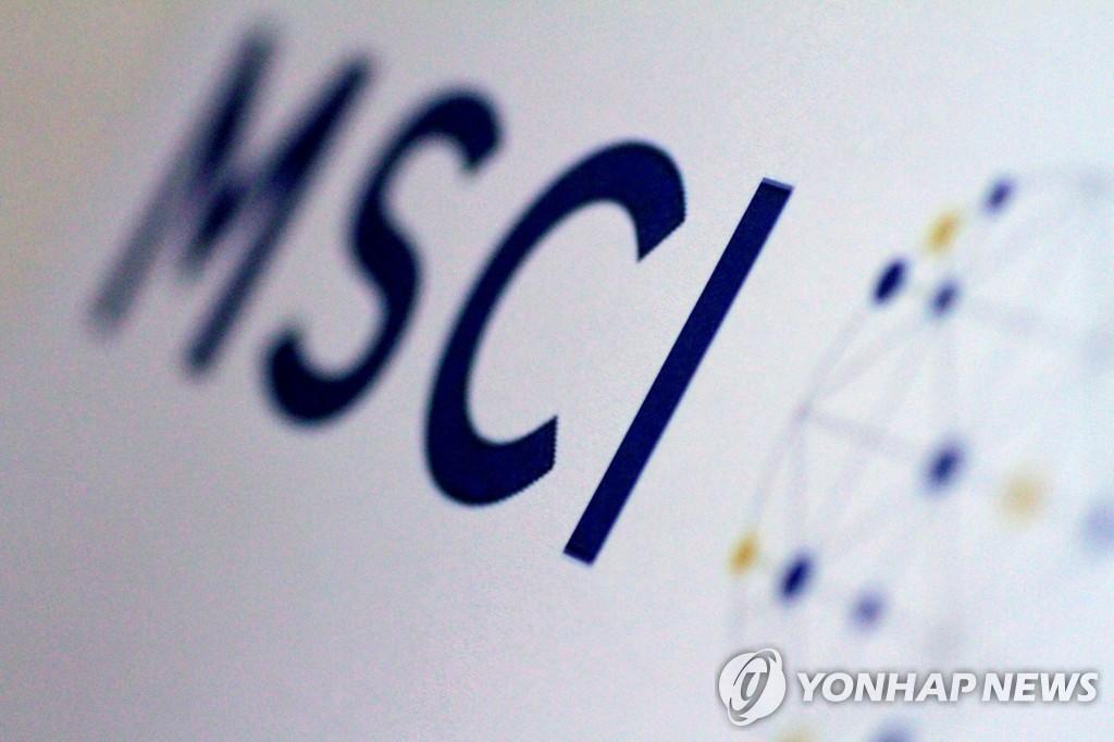 MSCI 지수, 한국 종목 신규 편출입 없어…삼성전자 비중은 하락