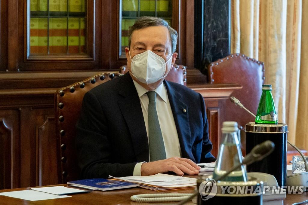 이탈리아 총리 내정자 드라기, 거국 내각 구성에 한발 앞으로(종합)