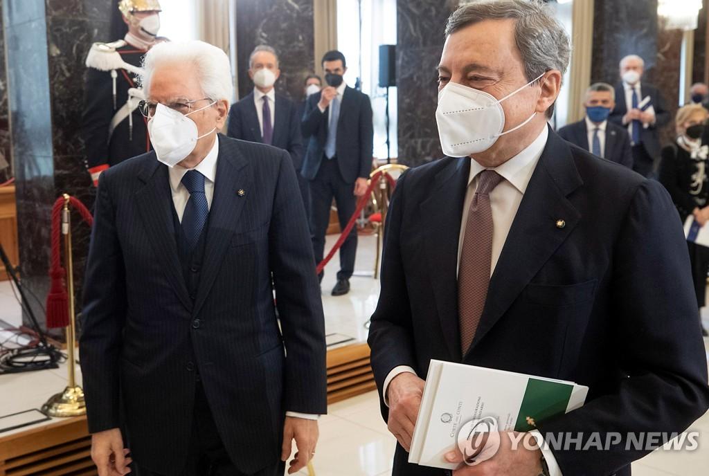 이탈리아 최대 정당, 드라기 내각 참여 결정에 내분 심화