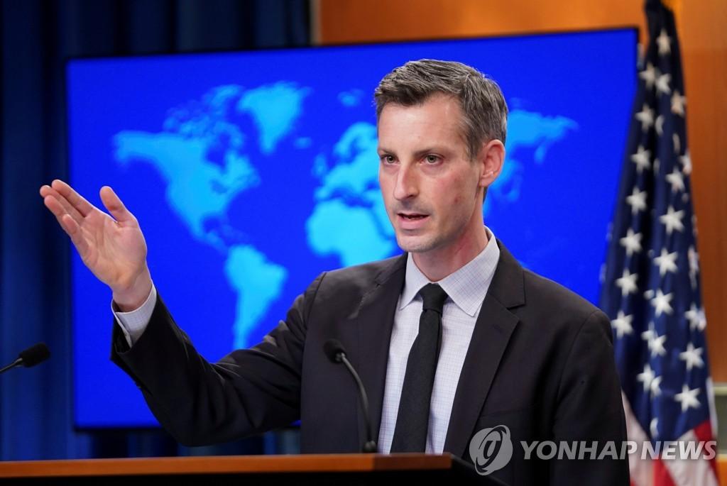 """미 """"생산적 한미일 관계 소중…한일과 협력해야 대북접근 효율"""""""
