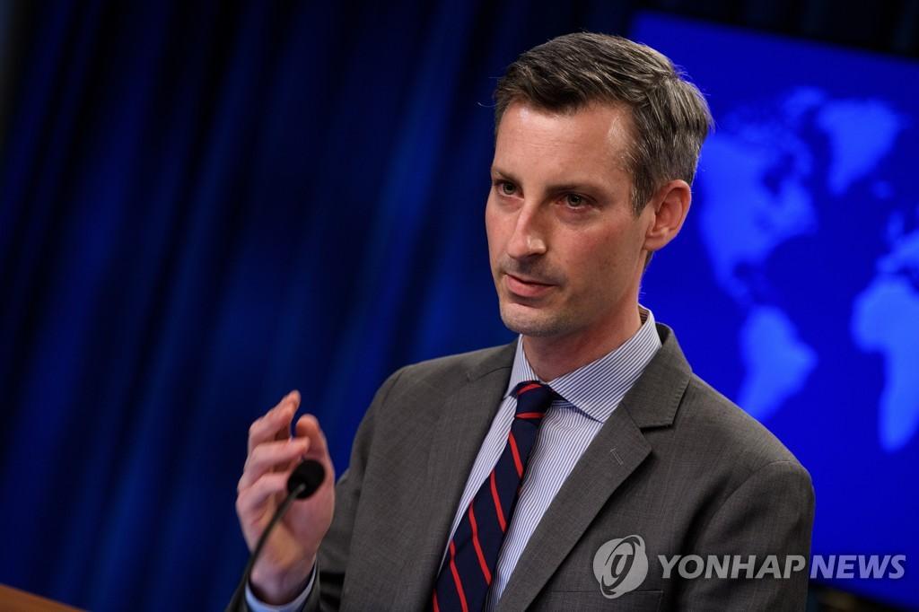 """미 국무부, 중 외교부장 연설에 """"책임 피하는 성향"""" 대놓고 비판"""