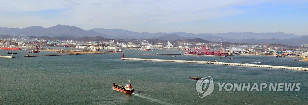 울산항 해운항만산업 첫 실태조사…연 매출 4조4천억