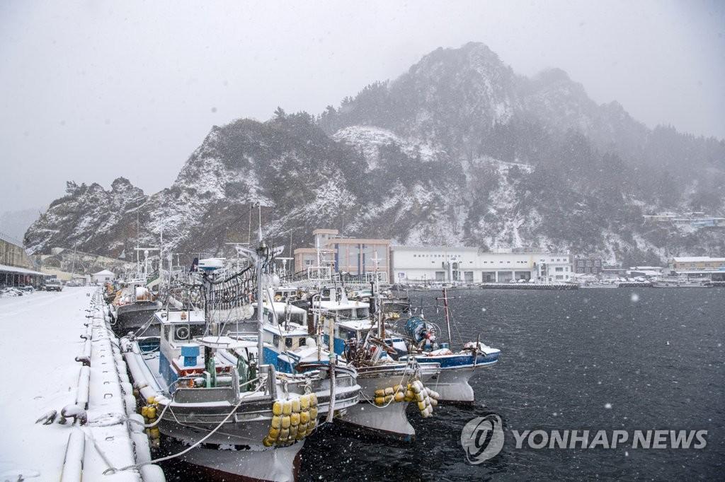 대구와 경북 맑고 낮에도 영하권…울릉도·독도 20cm 눈