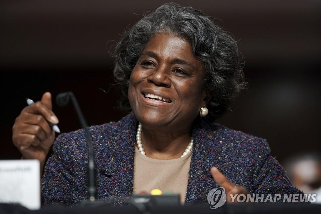 미 유엔대사 상원 인준…다자무대 리더십 확보 속도낸다