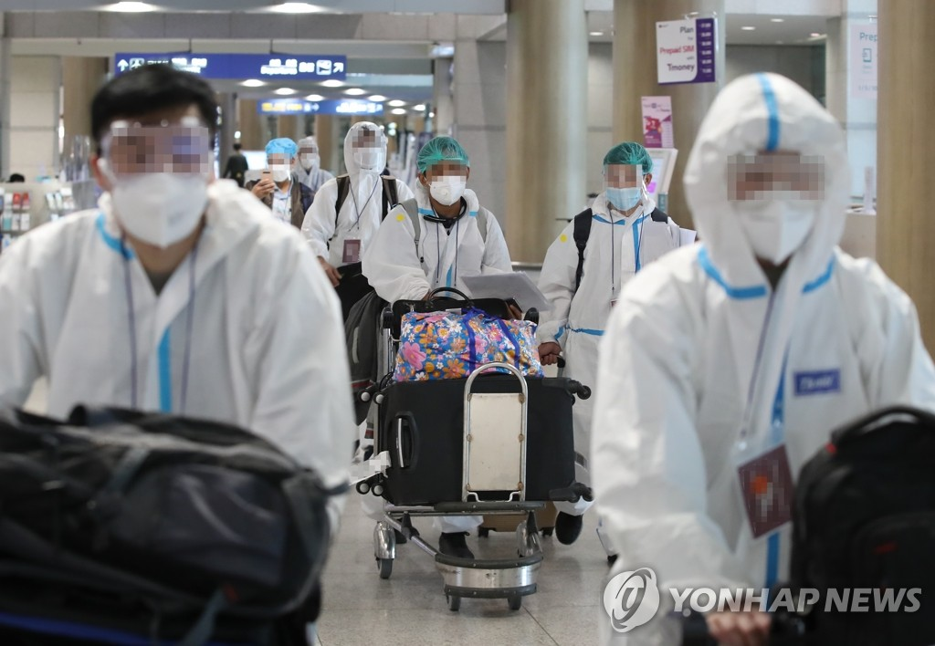 변이 감염 5명 추가,경남-전남 외국인 친척모임 관련…누적 99명