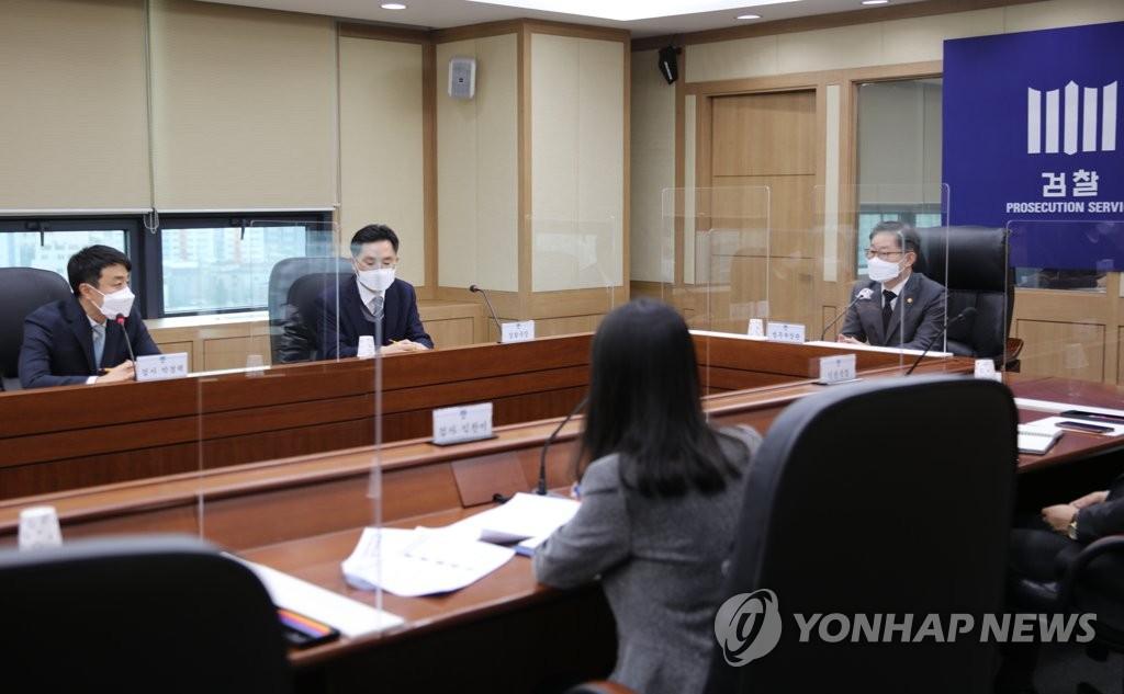 박범계, 대전 현장방문…'원전 수사' 대전지검은 생략