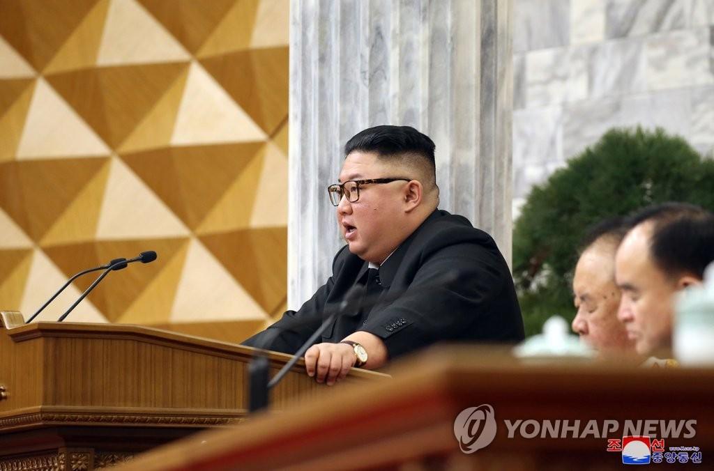 [2보] 김정은, 올해 경제계획 조목조목 질타…당 전원회의 종료