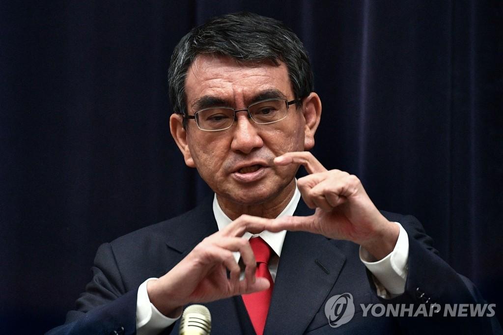 日, 문대통령 방문 특수주사기 업체에 8천만개 구입 요청