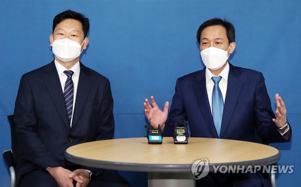'대세론' 탄 박영선…우상호, '盧사위' 곽상언 면담