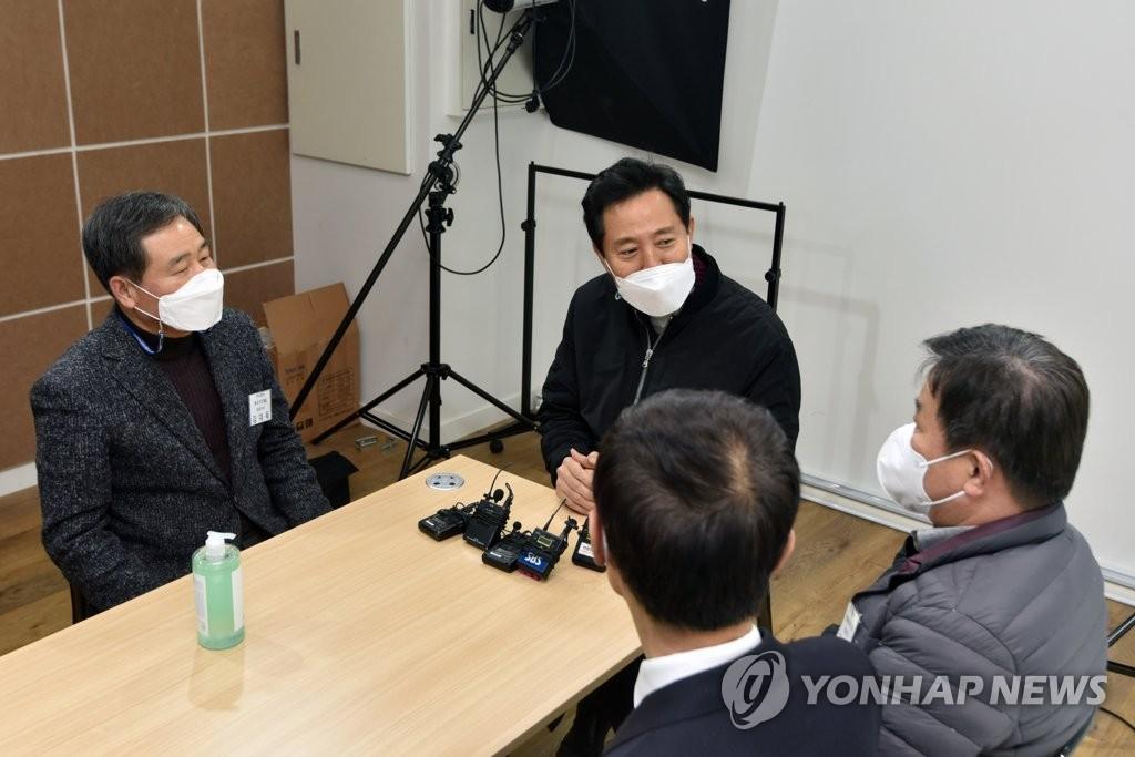 """오세훈 """"박영선 '21개 도시' 말장난…언론관도 한심""""(종합)"""