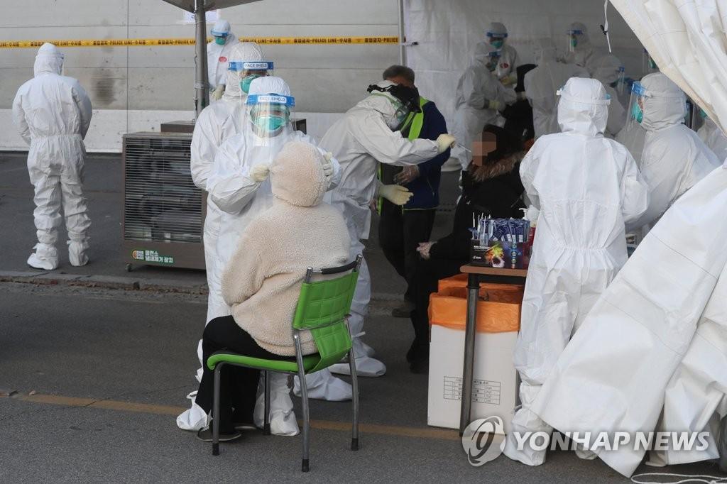 [속보] 경기 241명-서울 185명-부산·충남 각 28명-경북 23명 등 확진